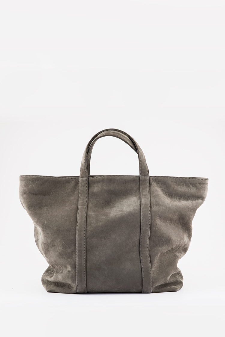 capri grey tote bag 3